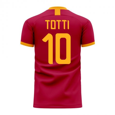 Roma Francesco Totti Tribute Home Shirt - Womens