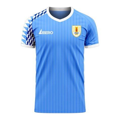 Uruguay 2020-2021 Home Concept Football Kit (Libero) (D.GODIN 3)
