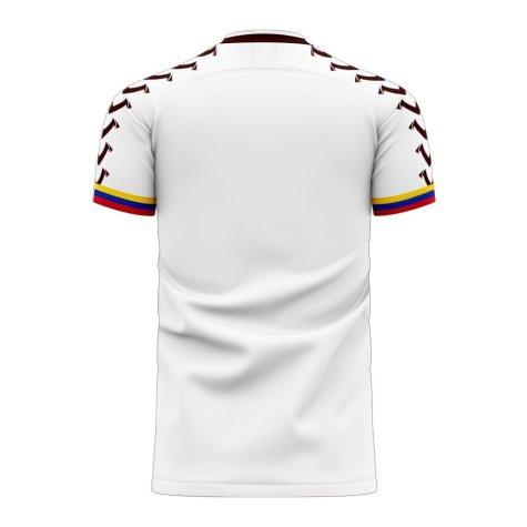 Venezuela 2020-2021 Away Concept Football Kit (Viper) - Womens