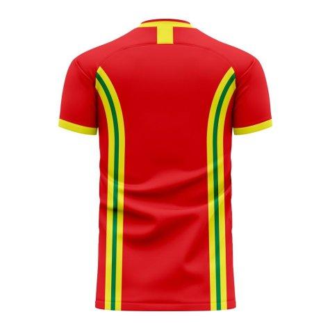 Wales 2020-2021 Home Concept Football Kit (Libero) (JAMES 20)