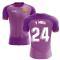 2020-2021 Barcelona Third Concept Football Shirt (Y Mina 24)