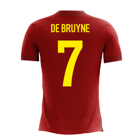 2020-2021 Belgium Airo Concept Home Shirt (De Bruyne 7) - Kids
