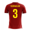 2020-2021 Belgium Airo Concept Home Shirt (Vermaelen 3) - Kids