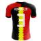2020-2021 Belgium Flag Concept Football Shirt (Vermaelen 3) - Kids