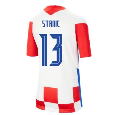 2020-2021 Croatia Home Nike Football Shirt (Kids) (STANIC 13)