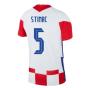 2020-2021 Croatia Home Nike Vapor Shirt (STIMAC 5)
