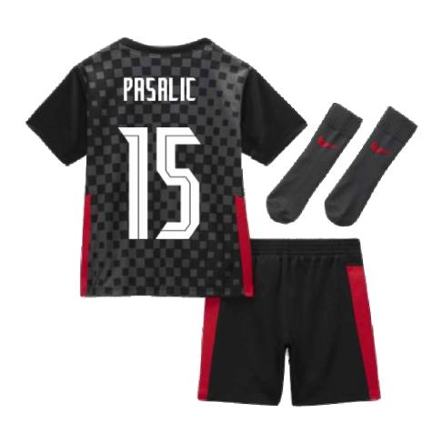 2020-2021 Croatia Little Boys Away Mini Kit (PASALIC 15)