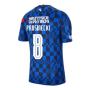 2020-2021 Croatia Pre-Match Training Shirt (Blue) - Kids (PROSINECKI 8)