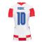 2020-2021 Croatia Womens Home Shirt (MODRIC 10)