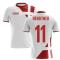 2020-2021 Denmark Away Concept Football Shirt (Bendtner 11) - Kids