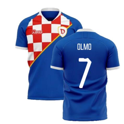 2020-2021 Dinamo Zagreb Home Concept Football Shirt (Olmo 7)