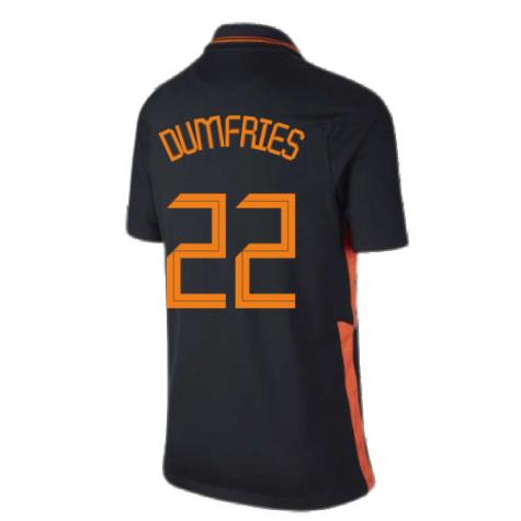2020-2021 Holland Away Nike Football Shirt (Kids) (DUMFRIES 22)