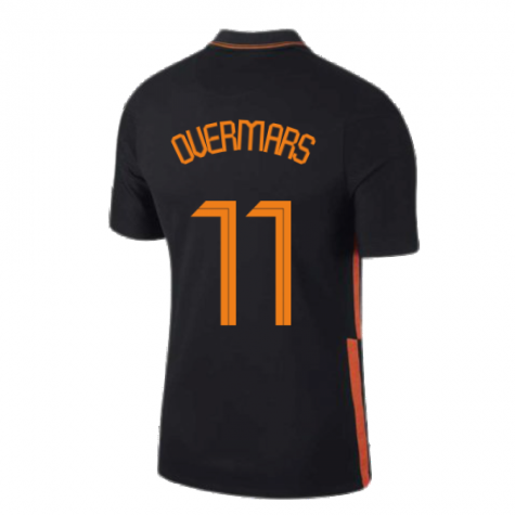2020-2021 Holland Away Nike Football Shirt (OVERMARS 11)