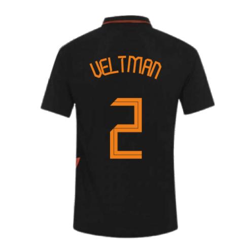 2020-2021 Holland Away Nike Vapor Match Shirt (VELTMAN 2)