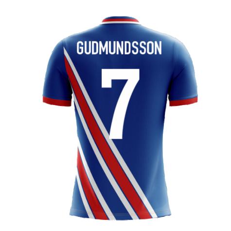 2020-2021 Iceland Airo Concept Home Shirt (Gudmundsson 7) - Kids