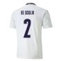 2020-2021 Italy Away Puma Football Shirt (Kids) (DE SCIGLIO 2)