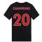 2020-2021 Liverpool Ground Tee (Black) - Kids (CHAMPIONS 20)