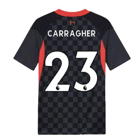 2020-2021 Liverpool Third Shirt (Kids) (CARRAGHER 23)