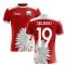 2020-2021 Poland Away Concept Football Shirt (Zielinski 19)