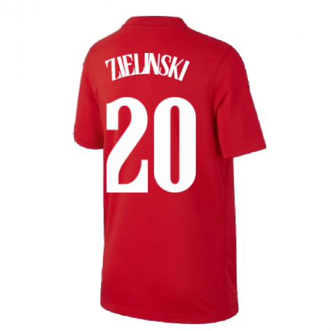 2020-2021 Poland Away Supporters Jersey (Kids) (ZIELINSKI 20)