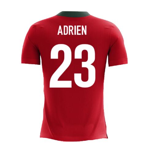 2020-2021 Portugal Airo Concept Home Shirt (Adrien 23) - Kids