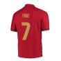 2020-2021 Portugal Home Nike Football Shirt (FIGO 7)
