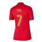 2020-2021 Portugal Home Nike Womens Shirt (FIGO 7)