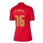 2020-2021 Portugal Home Nike Womens Shirt (R SANCHES 16)