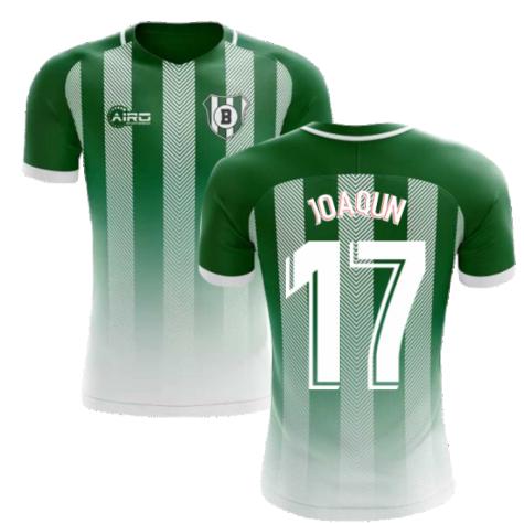 2020-2021 Real Betis Home Concept Football Shirt (Joaquín 17)