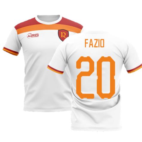 2020-2021 Roma Away Concept Football Shirt (FAZIO 20)