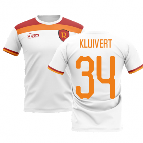 2020-2021 Roma Away Concept Football Shirt (KLUIVERT 34)