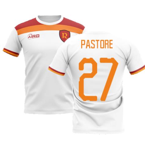 2020-2021 Roma Away Concept Football Shirt (PASTORE 27)