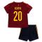 2020-2021 Spain Home Adidas Baby Kit (ADAMA 20)
