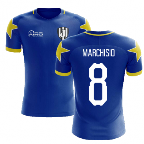 2020-2021 Turin Away Concept Football Shirt (Marchisio 8)