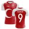 2020-2021 Turkey Home Concept Football Shirt (H.SUKUR 9)