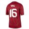 2020-2021 Turkey Nike Pre-Match Training Shirt (Red) (UNAL 16)