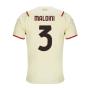 2021-2022 AC Milan Away Shirt (MALDINI 3)