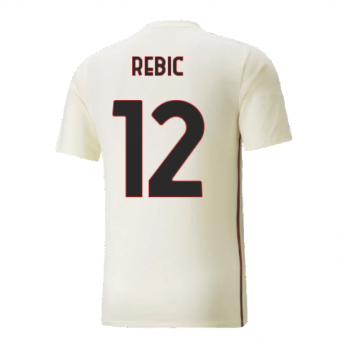 2021-2022 AC Milan Casuals Tee (Afterglow) (REBIC 12)