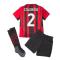 2021-2022 AC Milan Home Mini Kit (CALABRIA 2)