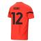 2021-2022 AC Milan Pre-Match Jersey (Red) (REBIC 12)