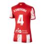 2021-2022 Atletico Madrid Womens Home Shirt (KONDOGBIA 4)