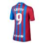 2021-2022 Barcelona Home Shirt (Kids) (CRUYFF 9)