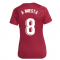 2021-2022 Barcelona Training Shirt (Noble Red) - Womens (A INIESTA 8)