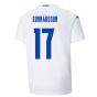 2021-2022 Iceland Away Shirt (GUNNARSSON 17)