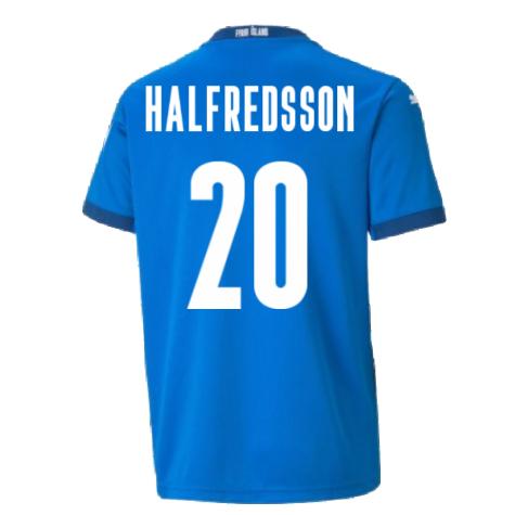 2021-2022 Iceland Home Shirt (Halfredsson 20)