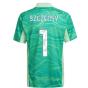 2021-2022 Juventus Home Goalkeeper Shirt (Lime) (SZCZENSY 1)