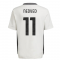 2021-2022 Juventus Training Shirt (White) - Kids (NEDVED 11)