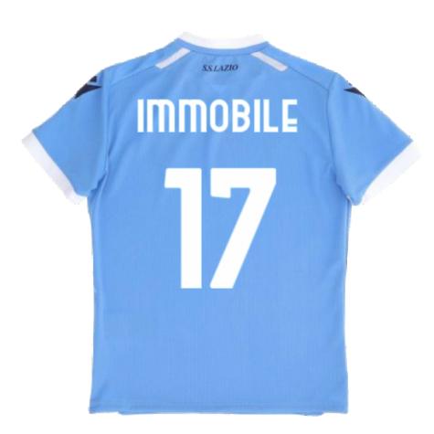 2021-2022 Lazio Home Shirt (Kids) (IMMOBILE 17)