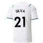 2021-2022 Man City Away Shirt (SILVA 21)