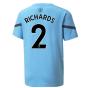 2021-2022 Man City Pre Match Jersey (Light Blue) (RICHARDS 2)